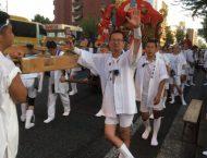 秋晴れの中、今年も春日祭が開催されました。
