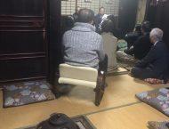 高雄の旧家にて個人演説会開催